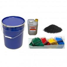 НАБОР компонентов для самостоятельной укладки резинового покрытия